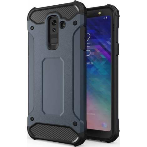 Powertech Hybrid Protect Μπλε (Galaxy A6+ 2018)  (MOB-1079)