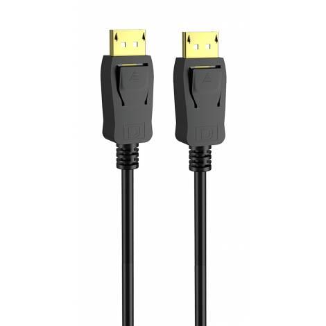 POWERTECH Καλώδιο DisplayPort 1.2 CAB-DP044, 4K 120Hz HDR, copper, 1.5m
