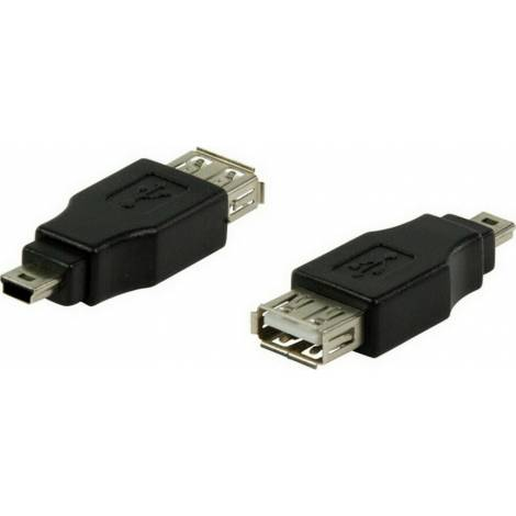 Powertech mini USB male - USB-A (CAB-U141)