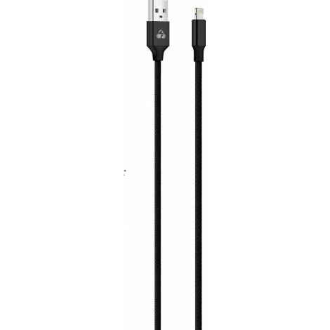 Powertech Regular USB to Lightning Cable Μαύρο 1m (PTR-0048)