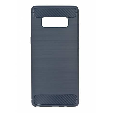 POWERTECH Θήκη Carbon Flex για Samsung Note 8, Blue  mob 0731