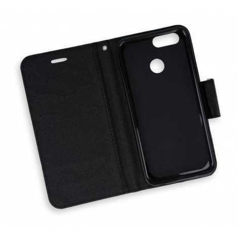 POWERTECH Θήκη Fancy για Huawei Nova 2, Black mob 0742