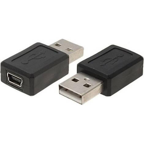 Powertech USB-A male - mini USB female (CAB-U111)