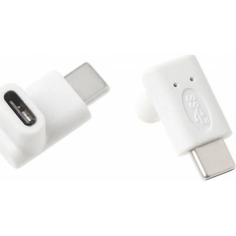 Powertech USB-C male - USB-C female (CAB-U099)