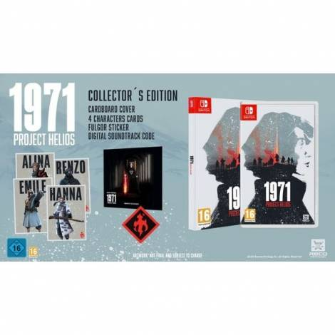 Project Helios 1971 - Collector`s Edition (NINTENDO SWITCH)