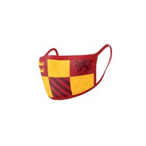Pyramid Προστατευτικές μάσκες  προσώπου 2τεμ. Gryffindor (Harry Potter) (GP85567)