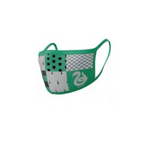 Pyramid Προστατευτικές μάσκες  προσώπου 2τεμ. Slytherin (Harry Potter) (GP85568)