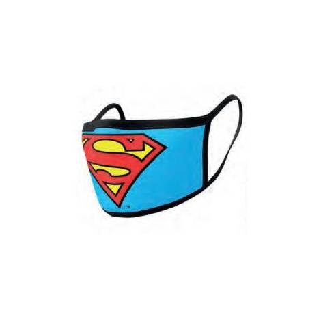 Pyramid Προστατευτικές μάσκες  προσώπου 2τεμ. Superman (GP85559)