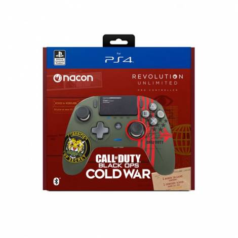 PS4 NACON REVOLUTION PRO CONTROLLER CALL OF DUTY COLD WAR