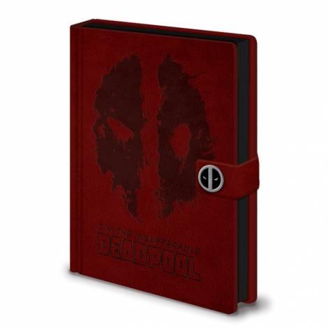 Pyramid Marvel Comics - Deadpool (Splat) Premium A5 Notebook (SR72395)