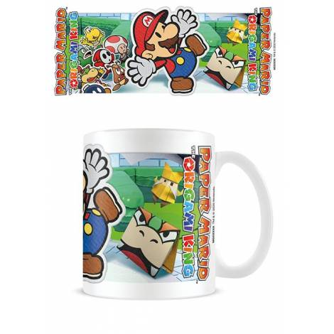Pyramid Paper Mario (Scenery Cut Out) Mug (MG26047)