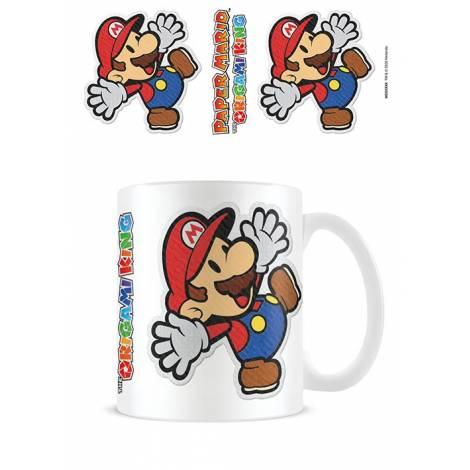 Pyramid Paper Mario - Sticker Coffee Mug (MG26046)