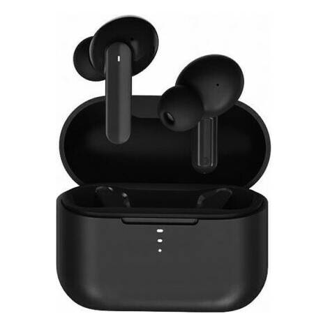 QCY T10 TWS Black Dual Driver 4-mic Noise Cancel True Wireless Earbuds