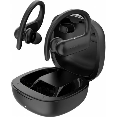 QCY T6 Workout Sports True Wireless Earbuds 5.0 Bluetooth - Black