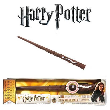 Ραβδί εκπαίδευσης Hermione Granger με φως και ήχο (Harry Potter) – Jakks Pacific (73210)