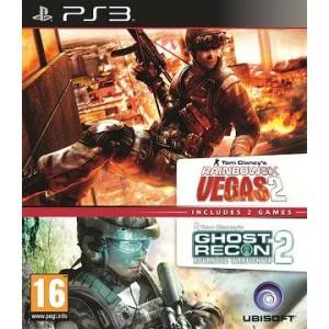 Rainbow Six Vegas 2 + Ghost Recon: Advanced Warfighter 2 Double Pack (PS3)