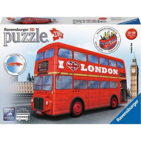 Ravensburger 3D Puzzle 216 Τεμ. London Bus (12534)
