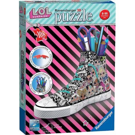Ravensburger - 3D Puzzle Sneaker L.O.L. Surprise (108 pcs.) (11163)
