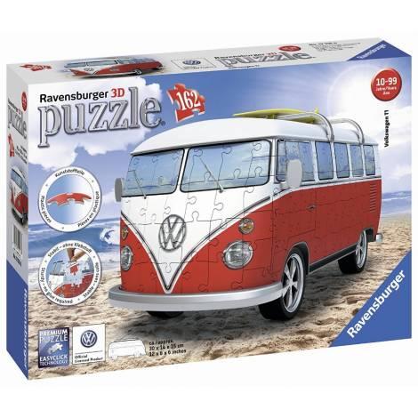 Ravensburger Πάζλ 3D 162τεμ. VW T1 Camper Van (12516)
