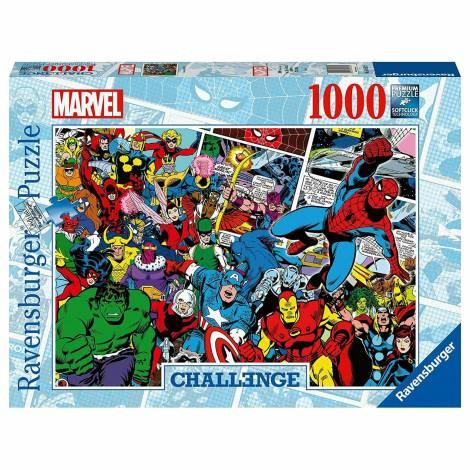 Ravensburger Puzzle: Marvel - Challenge (1000pcs) (16562)