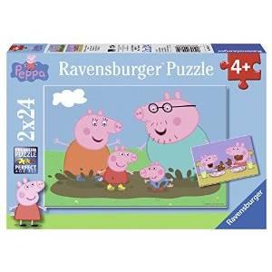 RAVENSBURGER PUZZLE - PEPPA PIG (2x24pcs.) (09082)