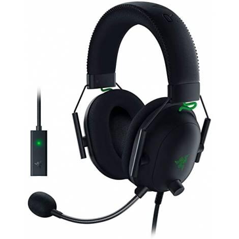 Razer Blackshark V2 Gaming Headset & USB AUDIO CARD – 7.1 THX – PC/PS4/PS5 (RZ04-03230100-R3M1)