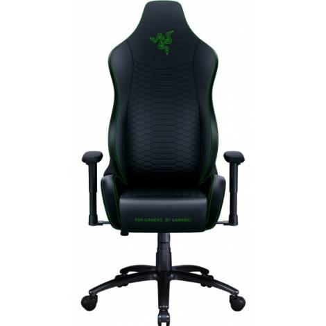 Razer ISKUR X Black/Green – Ergonomic Gaming Chair (RZ38-02840100-R3G1)