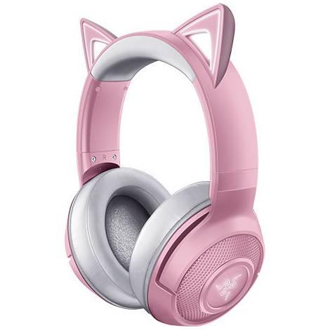 Razer KRAKEN Bluetooth Headset – Kitty Edition – Quartz