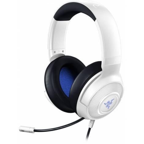 Razer KRAKEN X WHITE - PC/PS4/PS5/XBOX Wired Audio Jack Gaming Headset