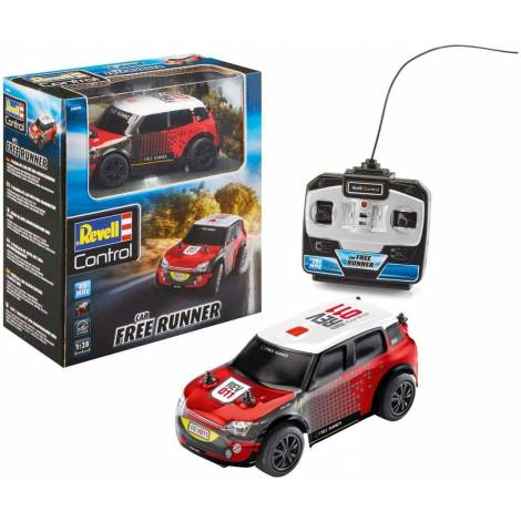 Revell Control Rally Car Free Runner, Red (24470)