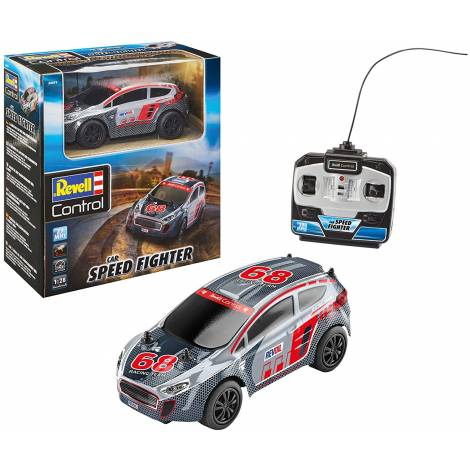 Revell Control Rally Car Speed Fighter, Silver (24471)