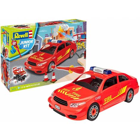 Revell Junior Kit Fire Chief Car Toy (00810)