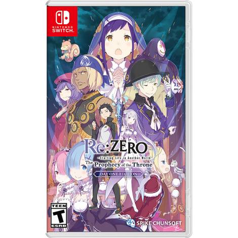 ReZero : The Prophecy Of The Throne (NINTENDO SWITCH)