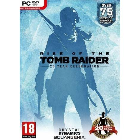 Rise of the Tomb Raider: 20 Year Celebration (PC) (CD KEY ONLY κωδικός μόνο)