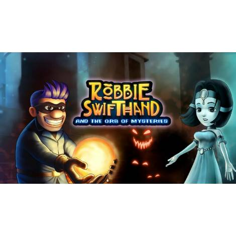 ROBBIE SWIFTHAND AND THE ORB OF MYSTERIES (CODE IN A BOX) (Nintendo Switch)