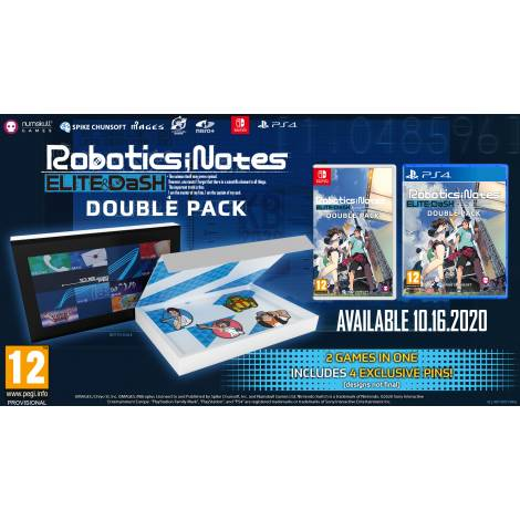 Robotics Notes Double Pack- Badge Collector's Edition  (PS4) (EU)