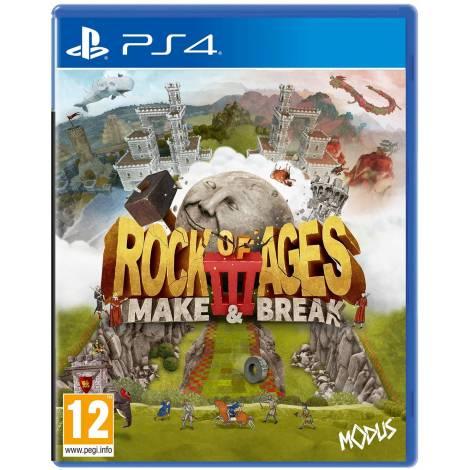 Rock Of Ages 3 : Make & Break (PS4)