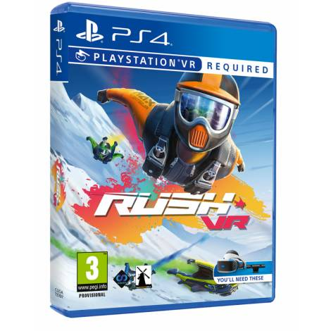 Rush Vr (Ps4) (Vr Required)