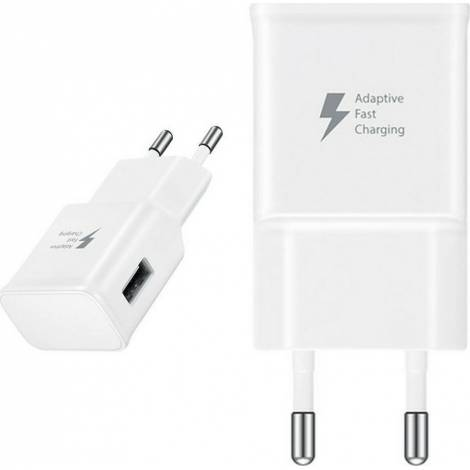 Samsung USB Wall Adapter Λευκό 15W 2A (EP-TA20E)