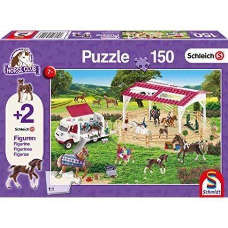 Schmidt 56240 Schleich - Άλογα (2 φιγούρες) Puzzle (150 pcs)