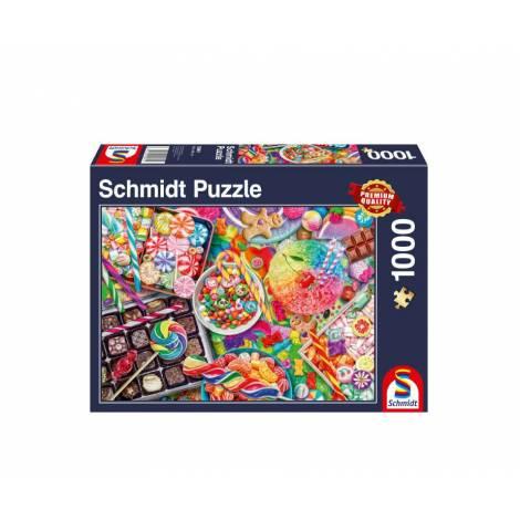 Schmidt 58961 Puzzle 1000St - Candylicious