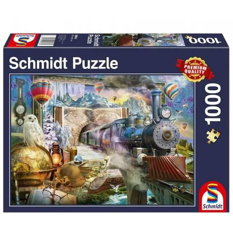 Schmidt 58964 Puzzle 1000St - Μαγικό ταξίδι