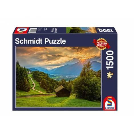 Schmidt 58970 Παζλ 1500St - Δύση στα βουνά