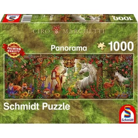 Schmidt 59614 - Enchanted Forest (1000 pcs)