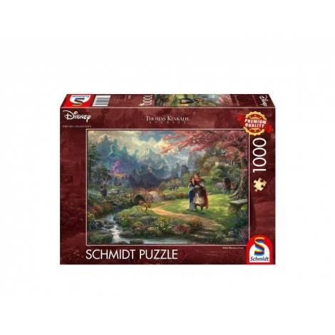 Schmidt 59672 Puzzle 1000St - Disney, Mulan