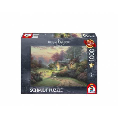 Schmidt 59678 Puzzle 1000St - Shepherd's cottage
