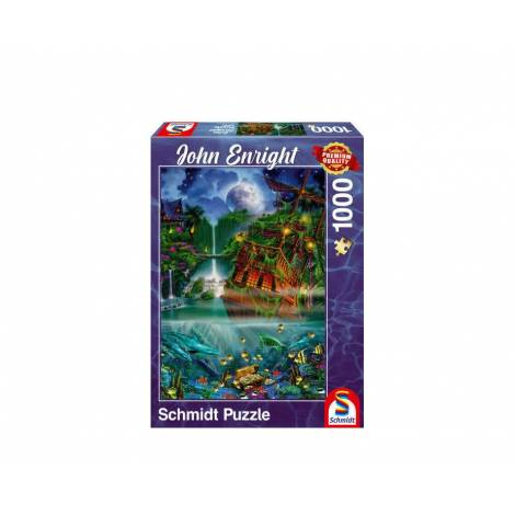 Schmidt 59685 Puzzle 1000St - Sunken treasure
