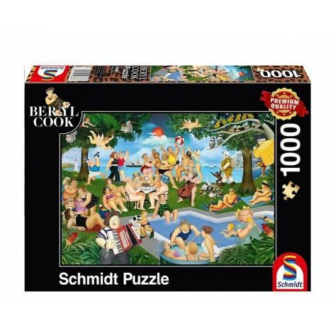 Schmidt 59687 Puzzle 1000St Beryl Cook - Καλοκαιρινό Πάρτυ