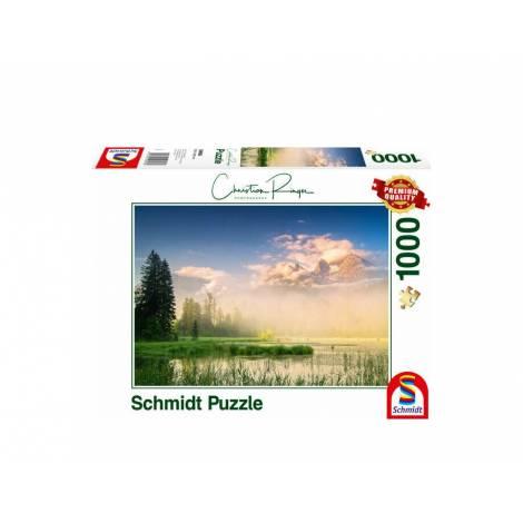 Schmidt 59696 Puzzle 1000St - Lake Taubensee