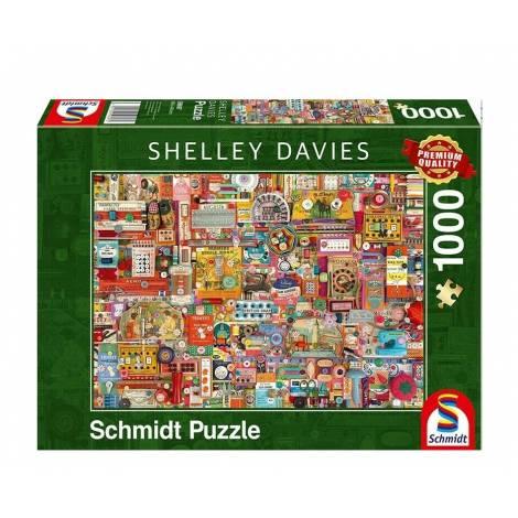 Schmidt 59697 Puzzle 1000St Shelley Davies - Βίντατζ Ραφτείο